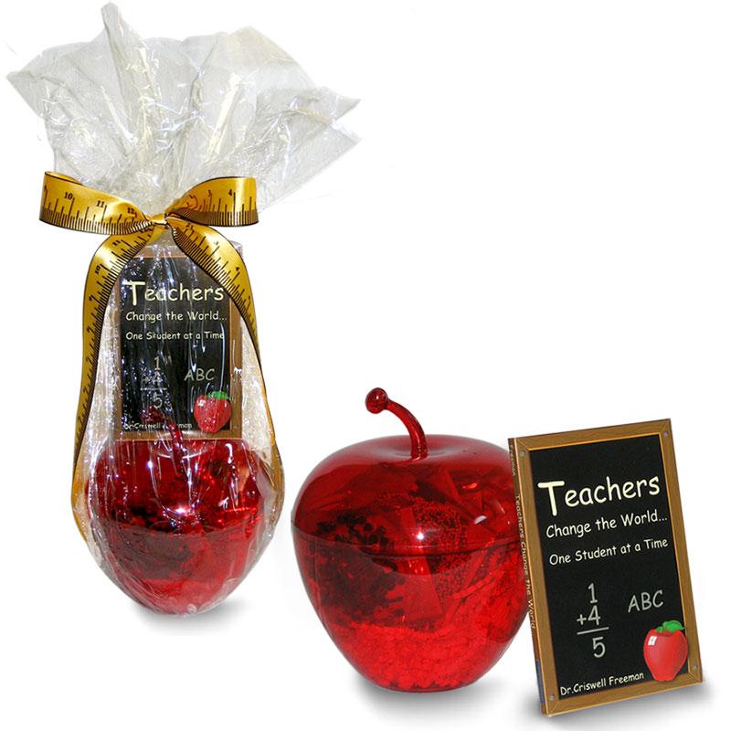 Apple Teacher Appreciation Gift Sayings
